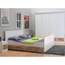 Rianne - landelijk wonen - wit met houten lades - slaapkamer