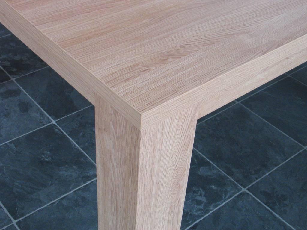 Eetkamertafel Vierkant Wit : Vierkante eetkamertafel Kate 130x130 ...