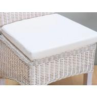 Stoelkussen off white/ecru voor rotan stoel Larissa