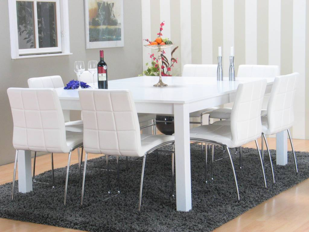 Vertrouwbaar witte design stoelen inspirerende idee n ontwerp met foto 39 s en voorbeelden - Tafel en witte stoelen ...