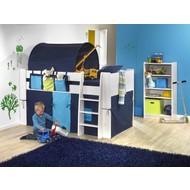 Tunnel donkerblauw voor op kinderbed Molly Kids