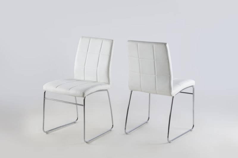 Witte Moderne Keukenstoelen : Eetkamer paya modern met 6 witte stoelen ...