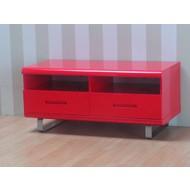 Spacy TV-meubel rood hoogglans