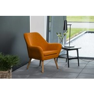 Ask oranje relaxfauteuil