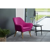 Ask magenta paars relaxfauteuil