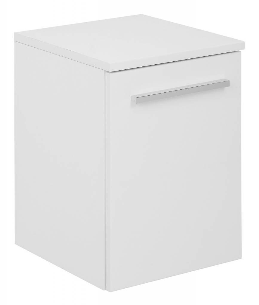 Badkamerkast Hoogglans ~ Home Badkamerkast onderkast Athena met 1 deurtje wit hoogglans