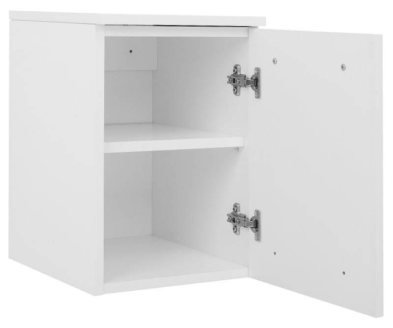 Afzuiging Badkamer Muur ~ Home Badkamerkast onderkast Athena met 1 deurtje wit hoogglans