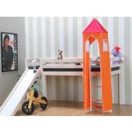Thuka Speeltoren bij kinderbed in oranje - roze
