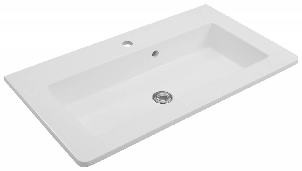 Maja small badkamermeubel cm hoogglans wit