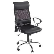 FYN Bureaustoel Rosenfors - zwart/zilver
