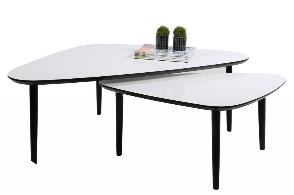Witte Woonkamer Set : FYN Set witte salontafels Game - Meubeltrefpunt ...