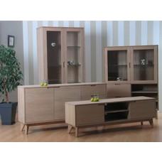 Retro - eiken meubels living