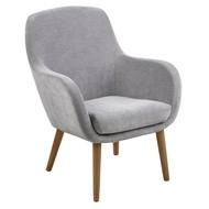 FYN Simple lounge fauteuil grijs