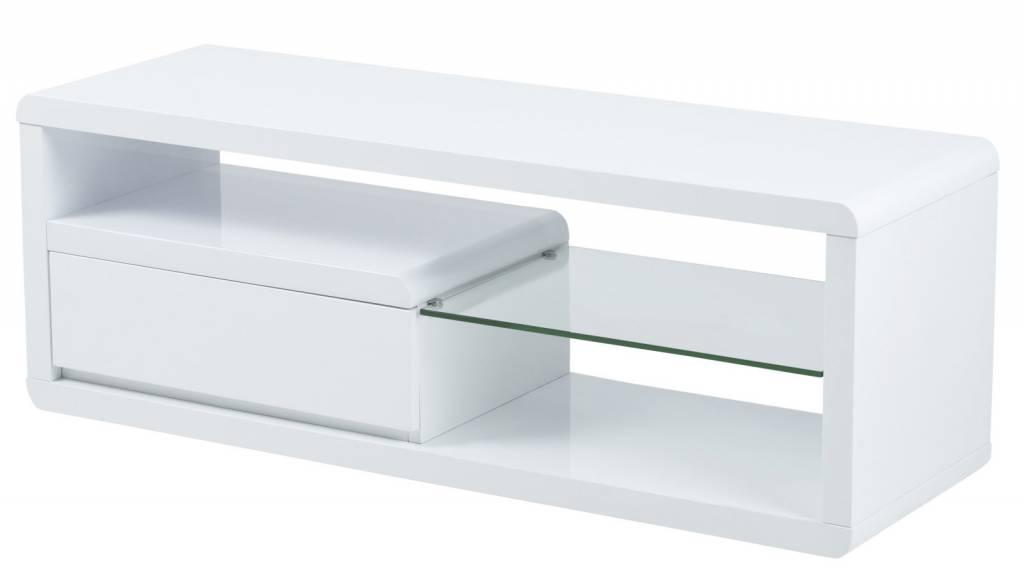 Hoogglans Kast Wit : Witte hoogglans kast dressoir d alu strip hoogglans wit