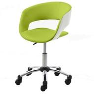 FYN Gramma - Bureaustoel - Lime/Wit