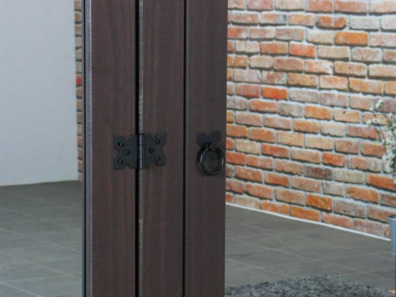 Kleerkast Met Spiegel : New mexico deurs kledingkast bruin met spiegel