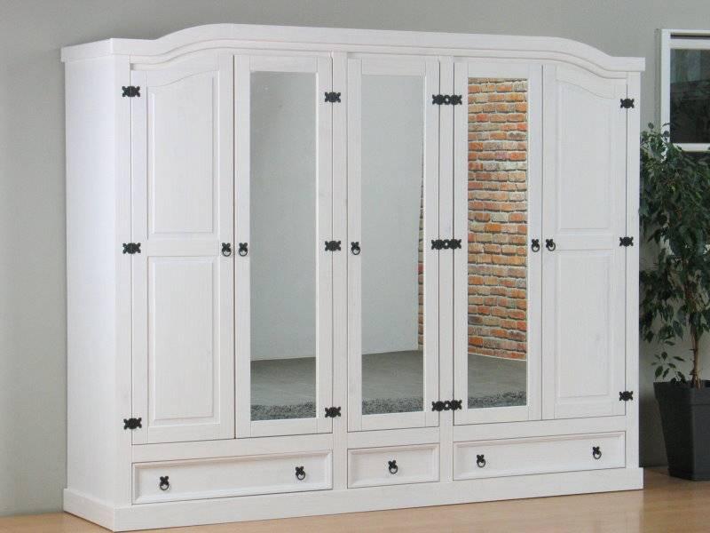 Slaapkamer Dressoir Met Spiegel : ... deurs kledingkast wit met ...