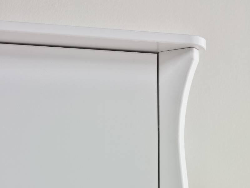 Baroque kledingkast 2 deurs wit