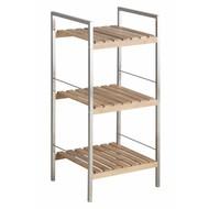FYN Duke wandrek 3 planken bamboe - staal