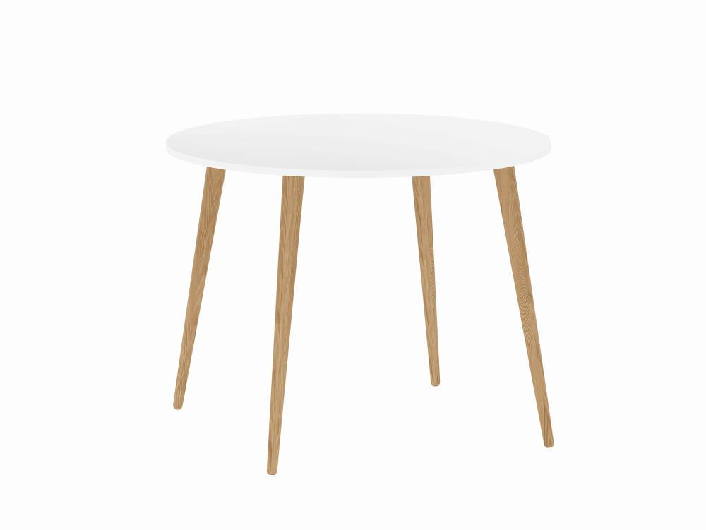 Witte ronde tafel. top witte ronde tafel ronde tafel wit gelakt