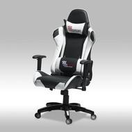 SOLLIDEN Wild bureaustoel gamestoel zwart-wit