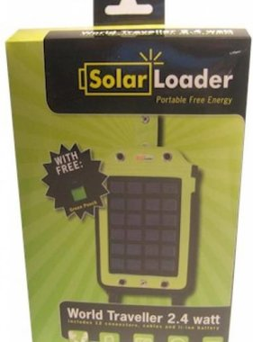Solar Loader World Traveller 2,4 Watt (no battery)