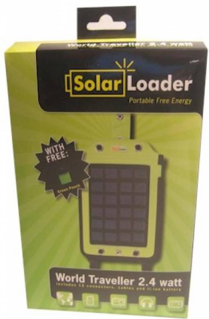 Solar Loader World Traveller 2,4 Watt (no battery)