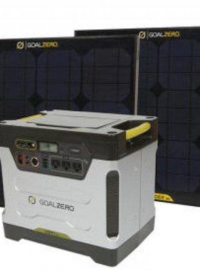 GOAL ZERO Yeti 1250 Solar Generator Kit - 220Volt