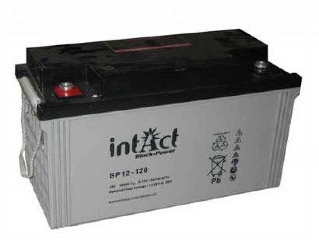 Intact AGM Solar Battery 12V/120Ah - Solar Loader