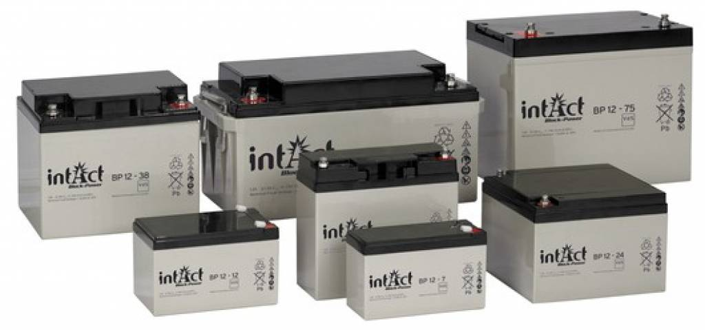 Intact AGM Solar Battery 12V/100Ah