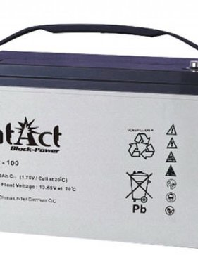 Intact AGM Solar Battery 12V/100Ah