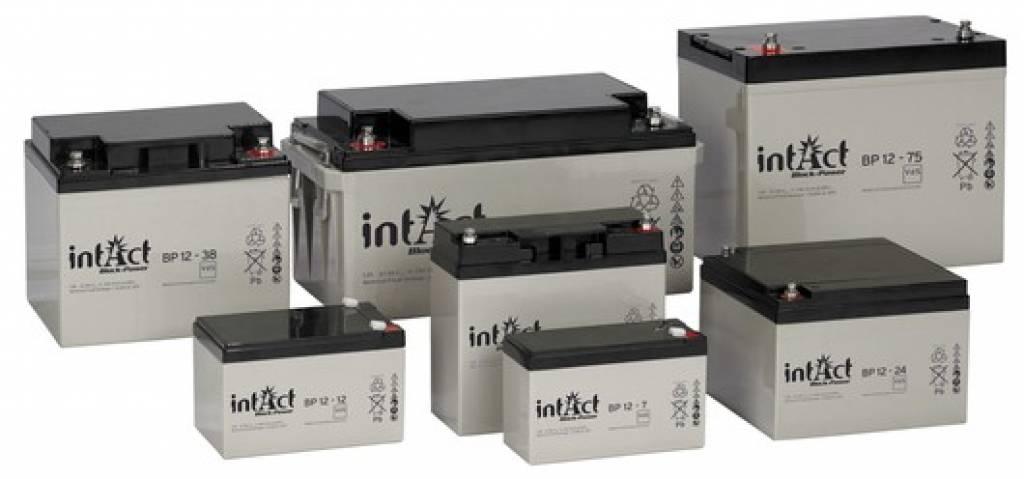 Intact AGM Solar Battery 12V/75Ah