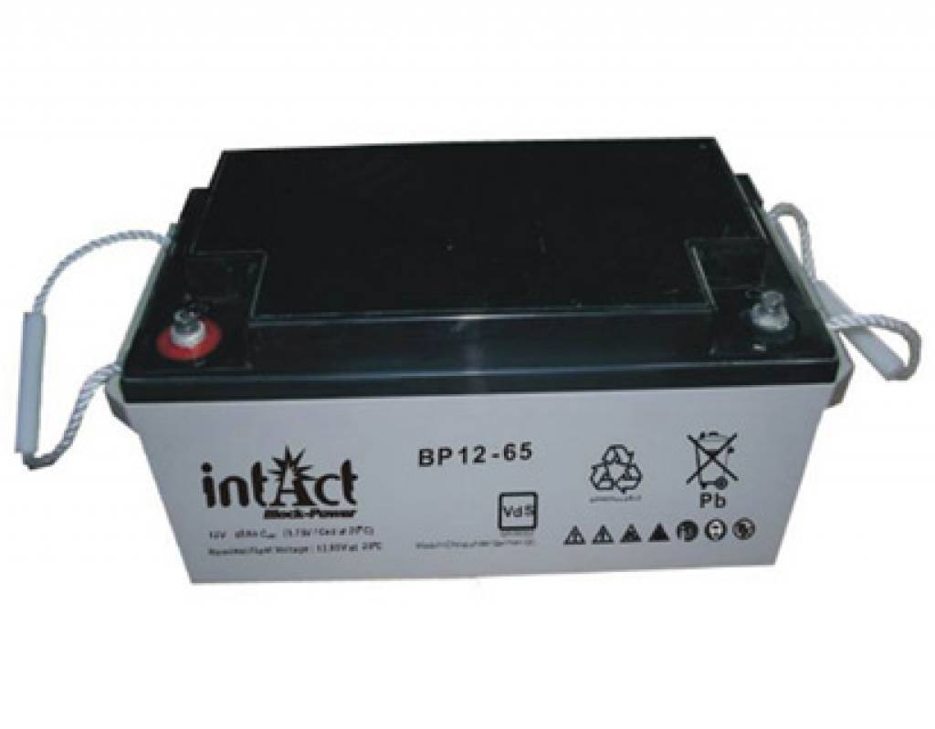 Intact AGM Solar Akku 12V/65Ah