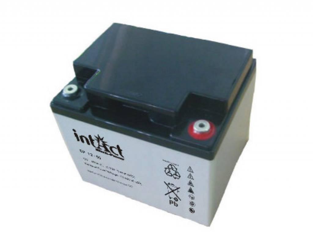 intact agm solar battery 12v 50ah solar loader. Black Bedroom Furniture Sets. Home Design Ideas