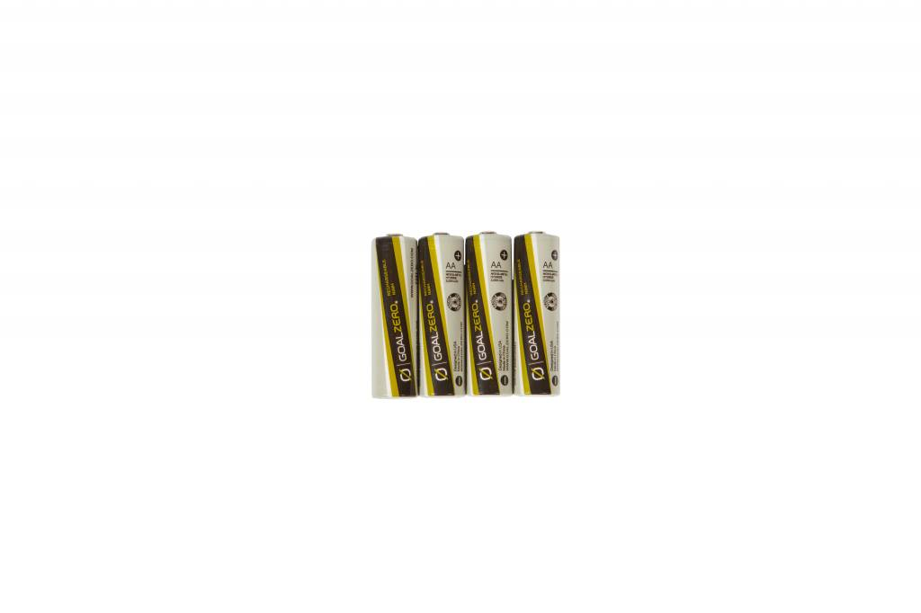 GOAL ZERO AA Rechargeable Batteries (4 Pack)