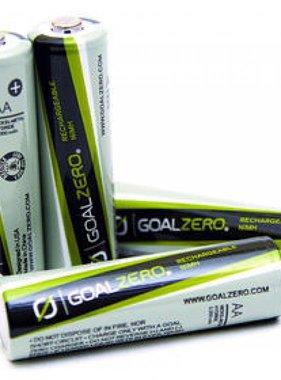 GOAL ZERO AA oplaadbare batterijen (4 Pack)