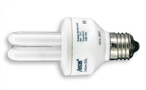 Steca Energy Saving Compact Lamp Solsum 5 (Gelb)