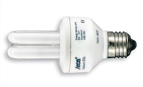 Steca Energy Saving Compact Lamp Solsum 5 (Yellow)