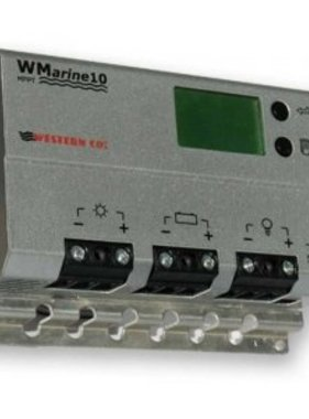 Western Co. Solar Charge Controller MPPT WMarine10