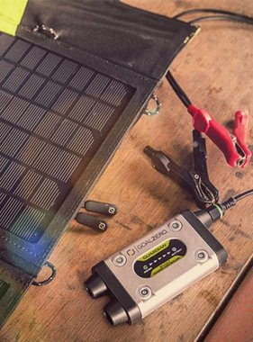 GOAL ZERO Guardian 12V with Nomad 13 Solar Recharging Kit