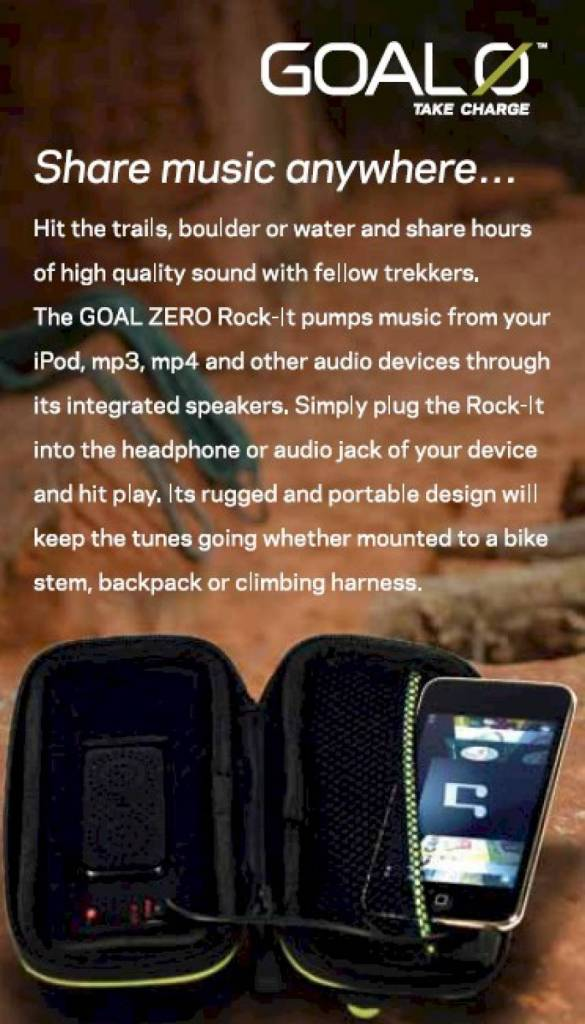 GOAL ZERO Rock Out
