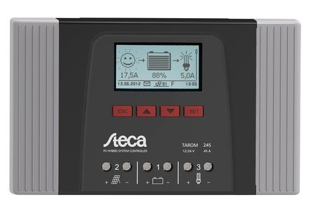 Steca Solar Charge Controller Tarom 4545 12/24V 45A with LCD