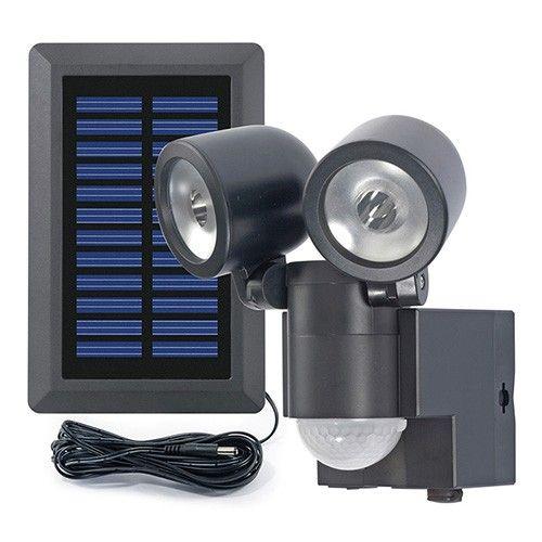 Solar Loader Solar LED Spot Duo LPL Black