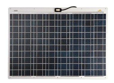 Los módulos solares semi-flexible