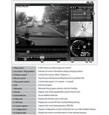 Hawk-i DVR 1CH Driving Video Recorder with Google Maps