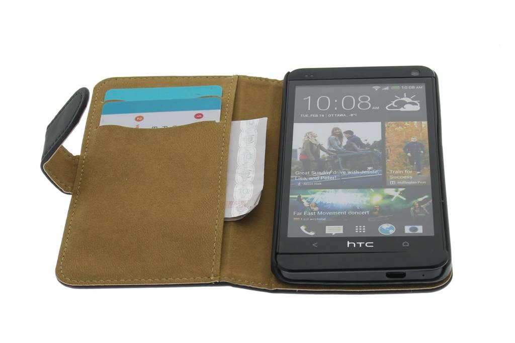 Booktype hoes voor HTC One |Smartphonehoesjes.nl