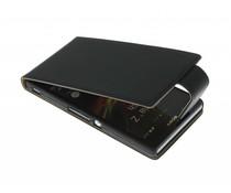 Zwart classic flipcase Sony Xperia Z
