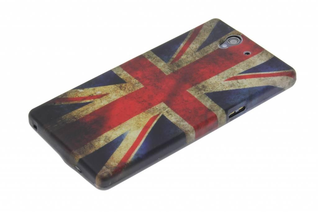 Drapeau Britannique Cru Tpu Étui En Silicone Pour Sony Xperia Z EQA20nT
