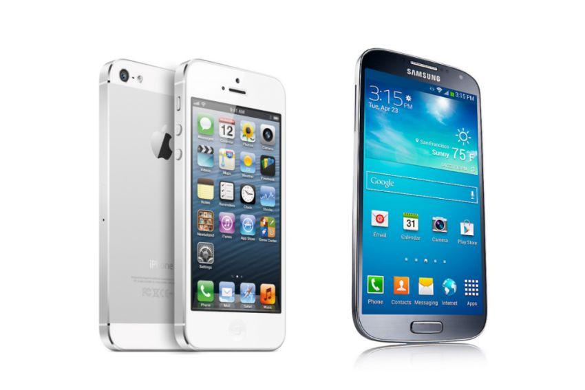 De oppermachtige positie van Apple en Samsung