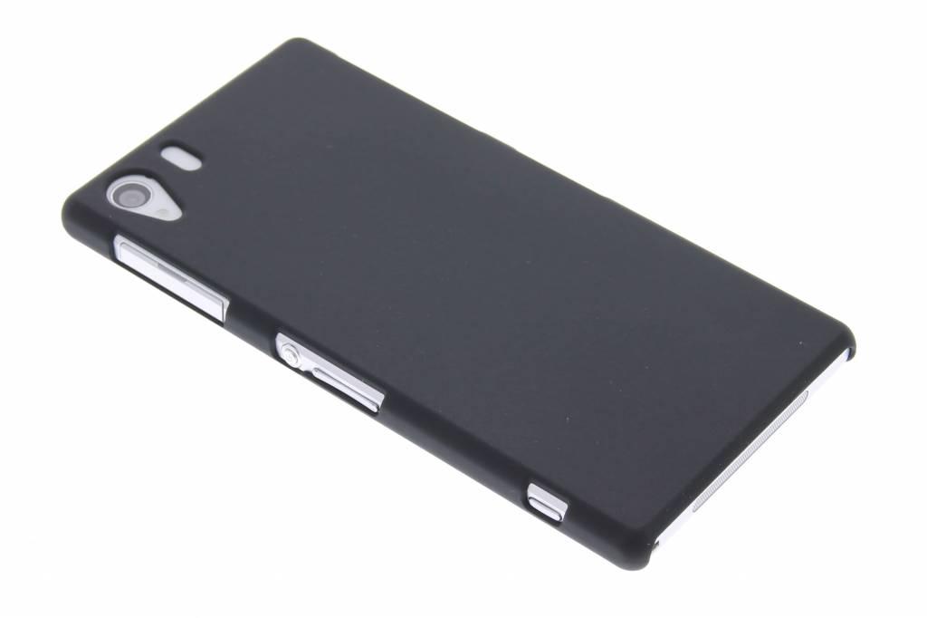 Zwart effen hardcase hoesje voor de Sony Xperia Z1
